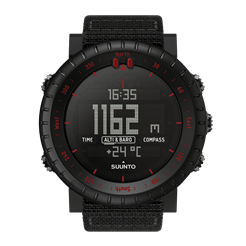 Suunto Core Black Red